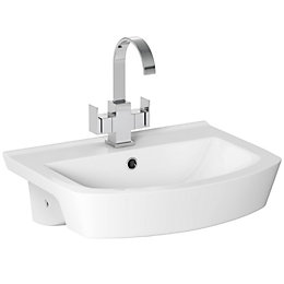 Cooke & Lewis Luciana Semi-Recessed Basin