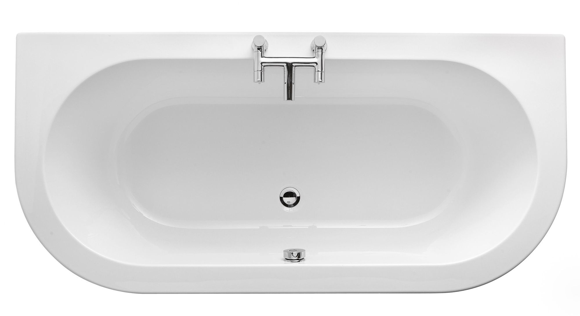 cooke lewis helena supercast acrylic twin ended - B And Q Bathroom Design