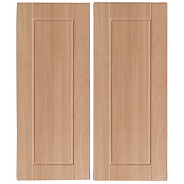 IT Kitchens Chilton Beech Effect Corner Wall Door