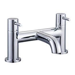Cooke & Lewis Minima Chrome Bath Mixer Tap