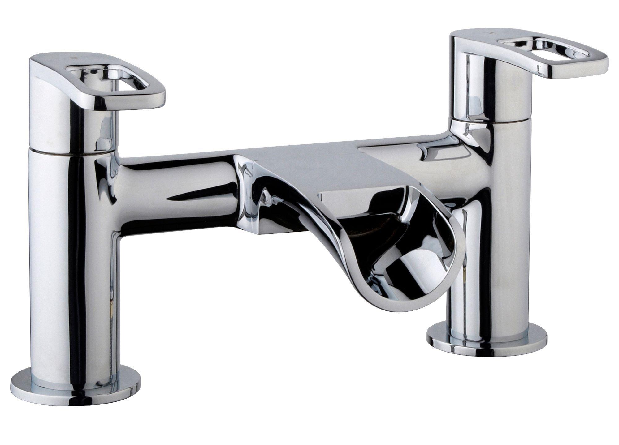 Cooke & Lewis Saverne Chrome Bath Mixer Tap | Departments ...