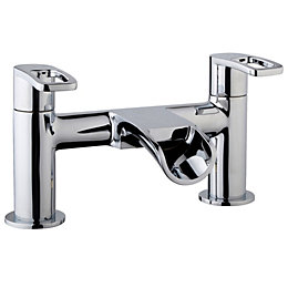 Cooke & Lewis Saverne Chrome Bath Mixer Tap