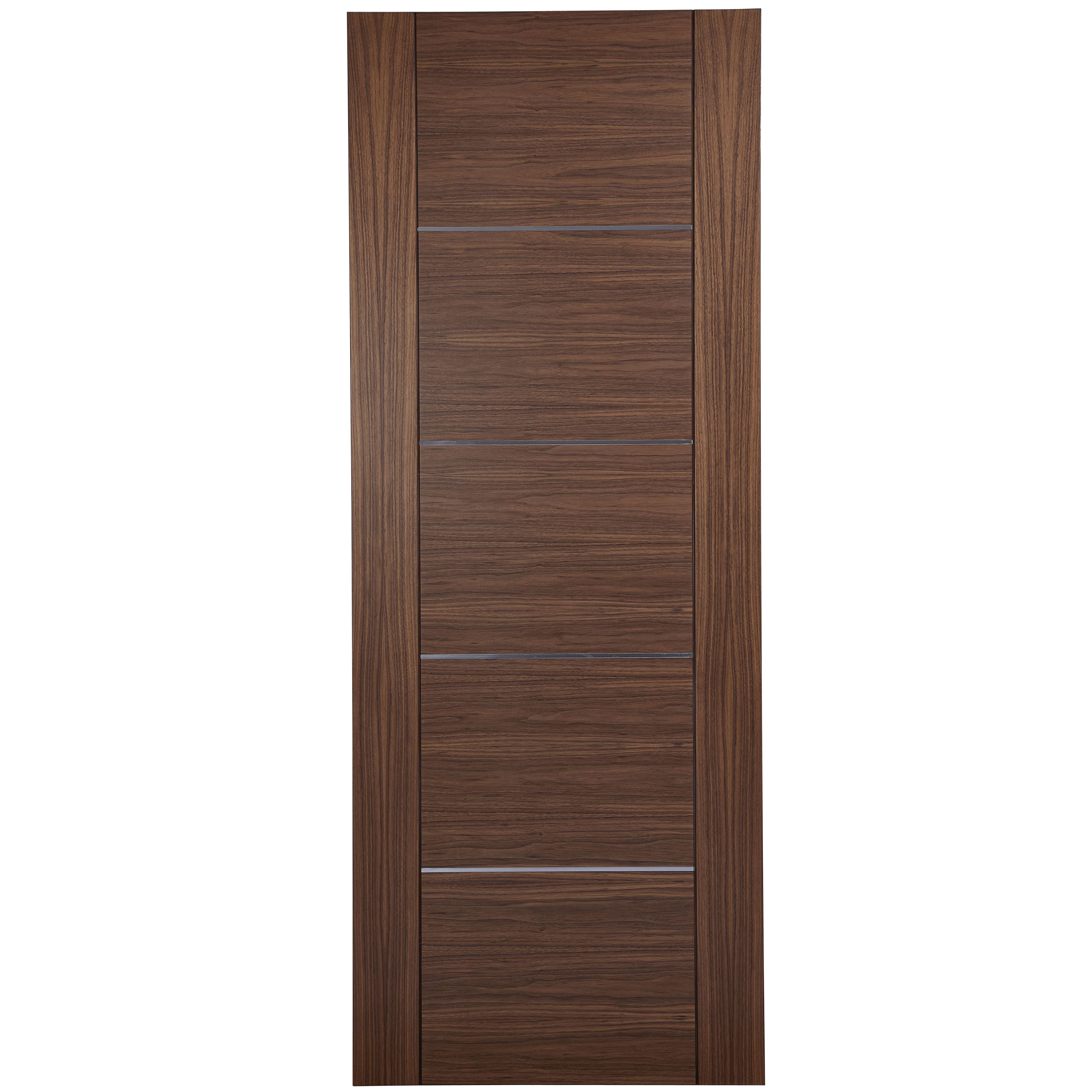 15 lite oak veneer internal glazed door h 1981mm w for 1 panel inlaid oak veneer door