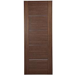 Flush 5 Panel Oak Veneer Internal Fire Door,