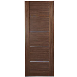 Flush 5 Panel Oak Veneer Internal Fire Door,