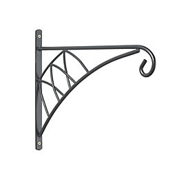 Blooma Classic Black 120mm Hanging Basket Bracket