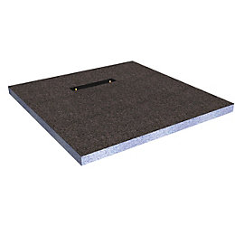 Cooke & Lewis Aquadry Rectangular Shower Tray (L)1.7m