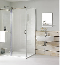 Cooke & Lewis Eclipse Rectangular LH Shower Enclosure,