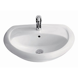 Cooke & Lewis Romeo Semi-Recessed Basin