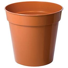 Plastic Terracotta Plant Pot (Dia)18cm