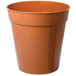 Plastic Terracotta Plant Pot (H)300mm (Dia)305mm