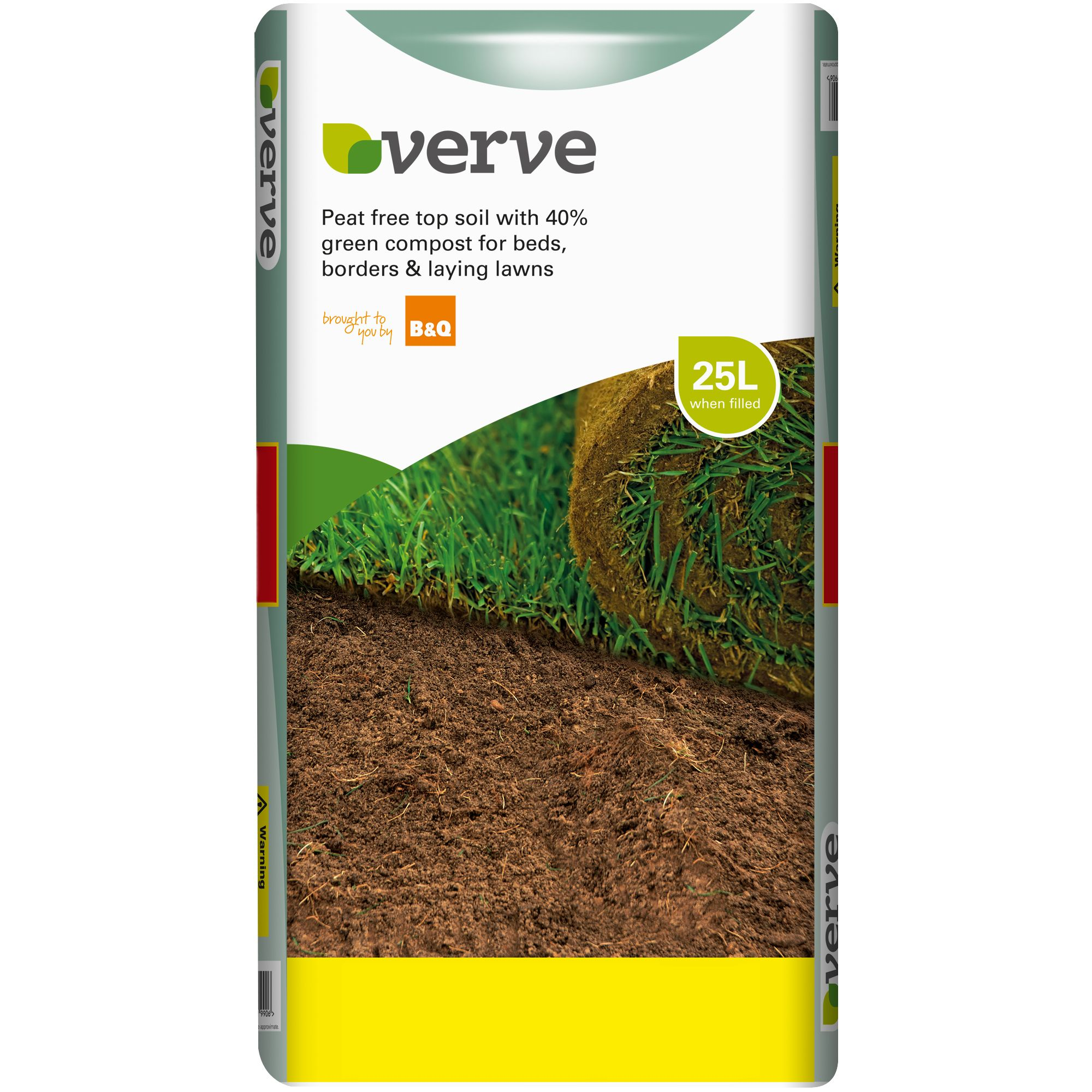 Diy At B Q: Verve Top Soil 25L