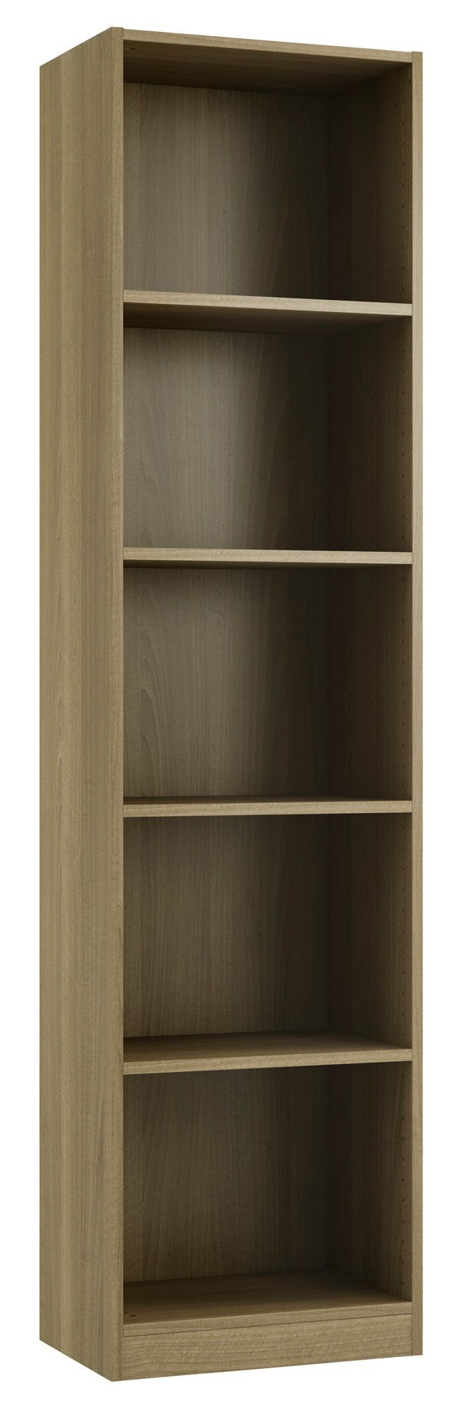 Form Darwin Natural Walnut Effect 4 Shelf Bookcase H  : 0415724301c from www.diy.com size 657 x 2000 jpeg 106kB