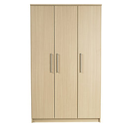 Elsey Oak Effect 3 Door Wardrobe (H)2000 mm