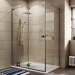 Cooke & Lewis Luxuriant Rectangular LH Shower Enclosure,