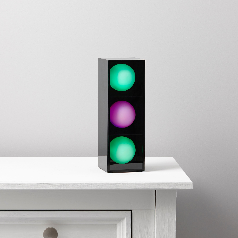 Disco 3 Balls Black Table Lamp