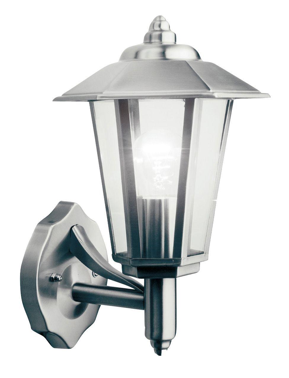 Newport Stainless Steel Mains Powered External Wall Lantern