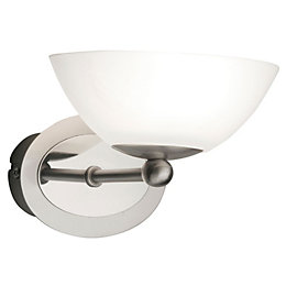 Aba Chrome Effect Wall Uplighter