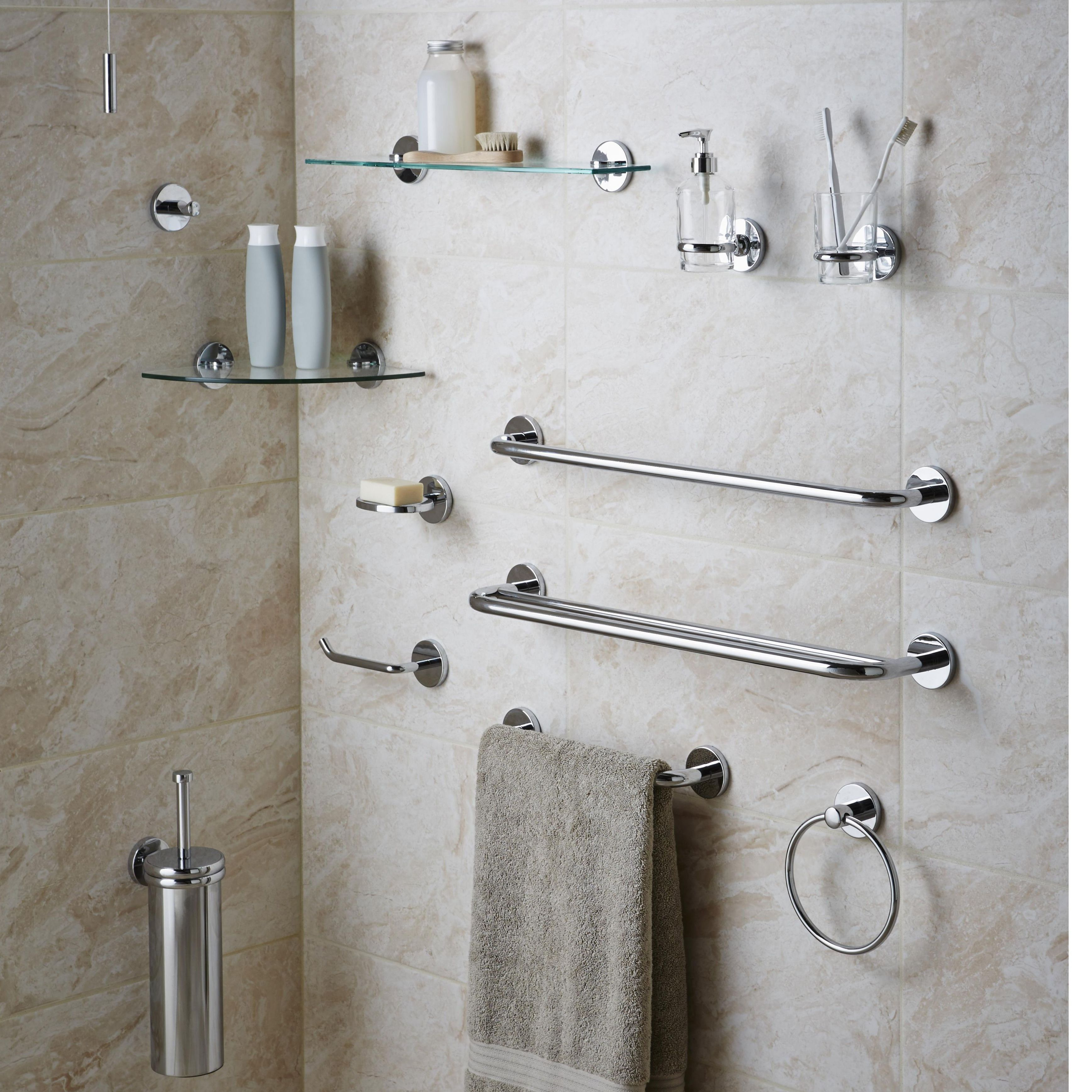 Bathroom accessories coordinating collections bathroom for B q bathroom accessories