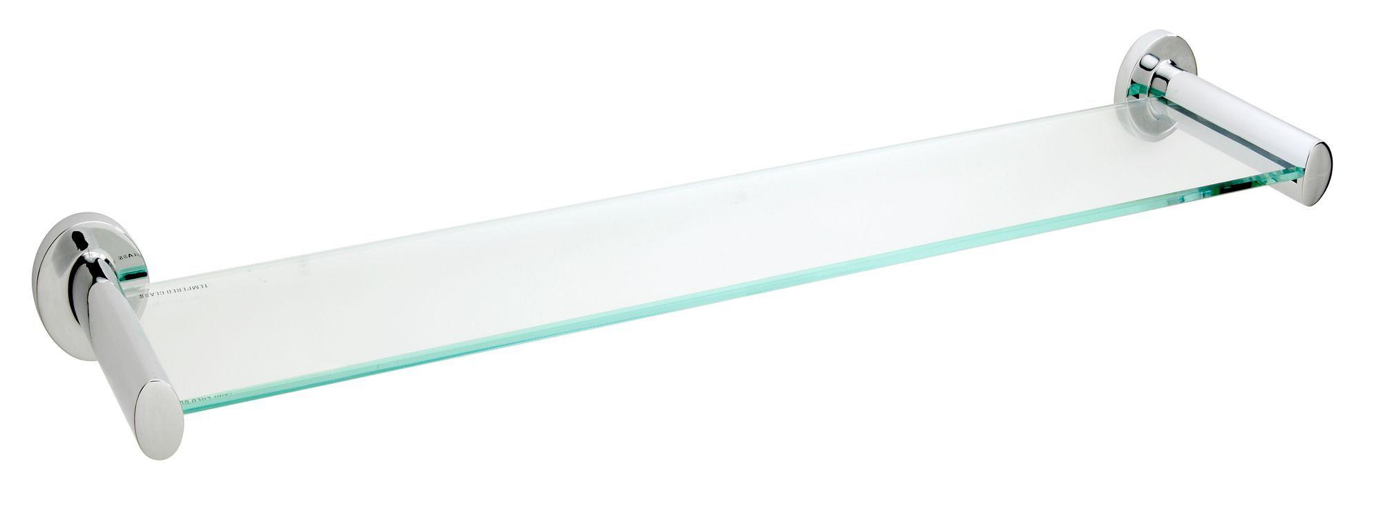 1522cc943b3 Ultimo Clear Glass shelf (L)500mm (D)115mm