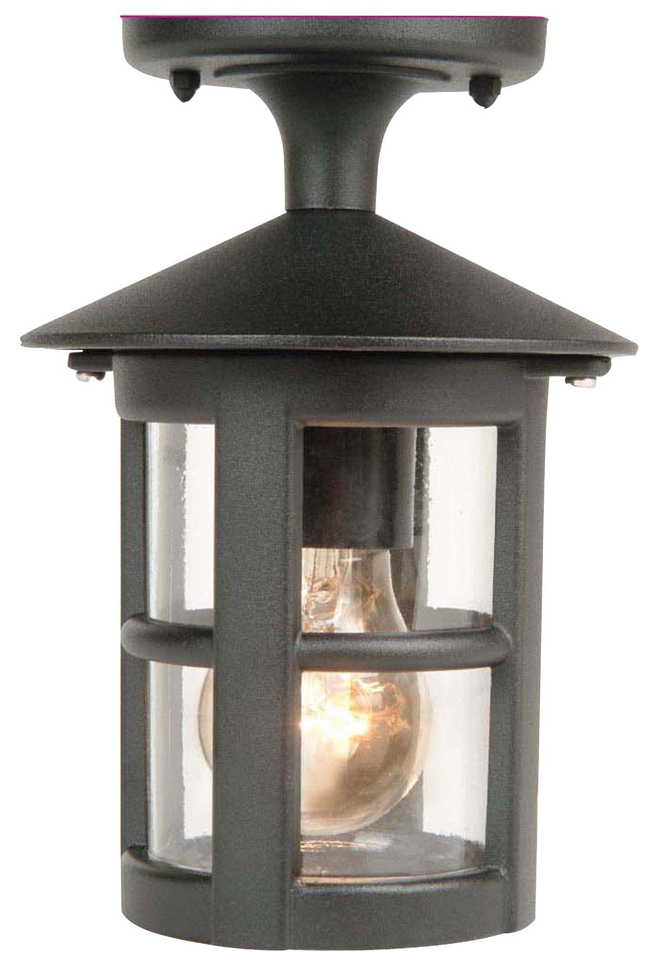 whistler black mains powered external top mounted light