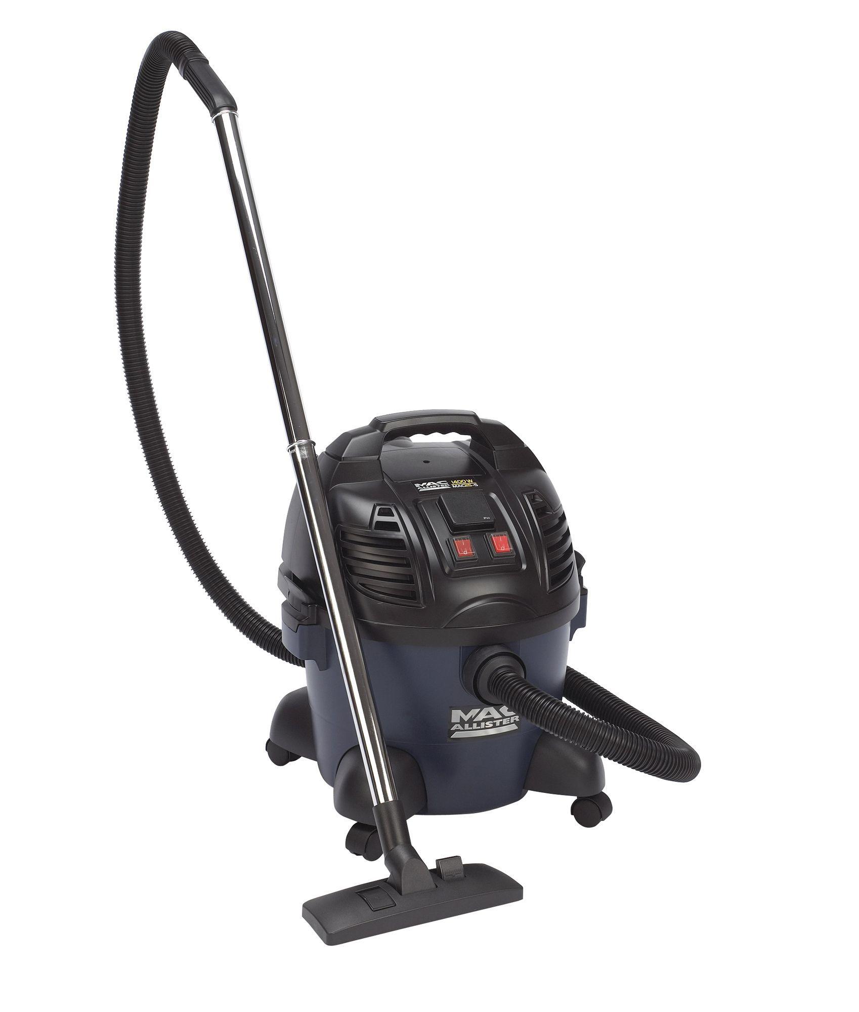 Mac Allister Mac25-s Corded Bagged Wet & Dry Vacuum Cleaner Mac25-s