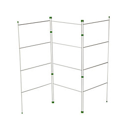B&Q 3 Fold Gate Airer 5.2 M Drying