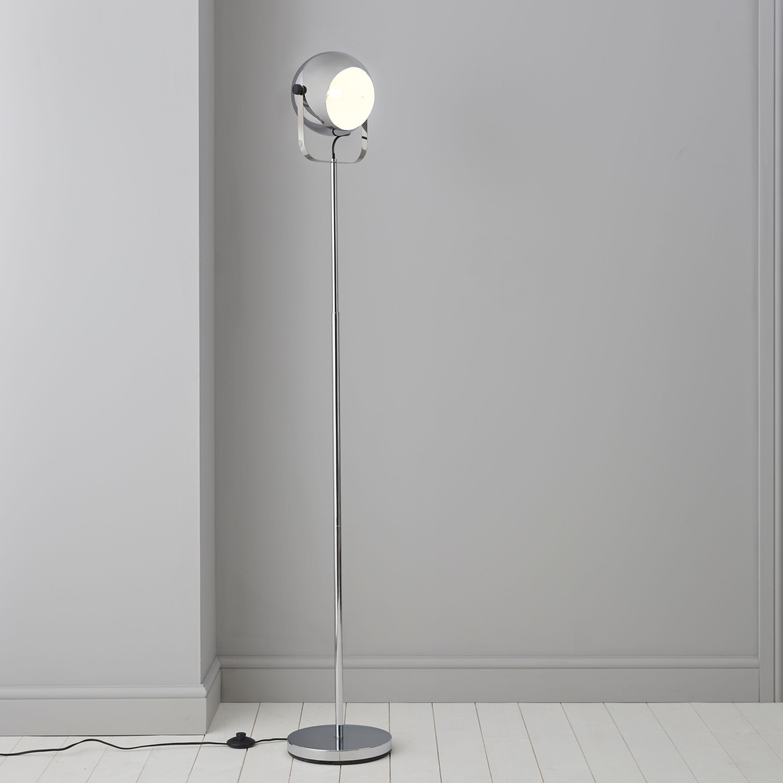 Bobo Chrome Effect Floor Lamp Departments DIY At B Q