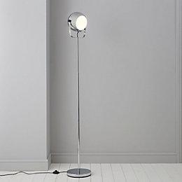 Bobo Silver Chrome Effect Floor Lamp