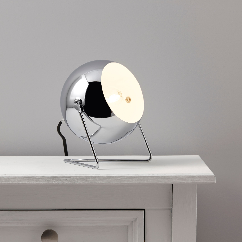 Bobo Chrome Effect Table Lamp