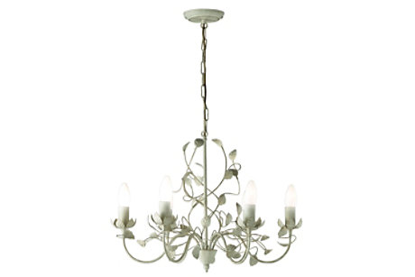 Eva Cream Chandelier