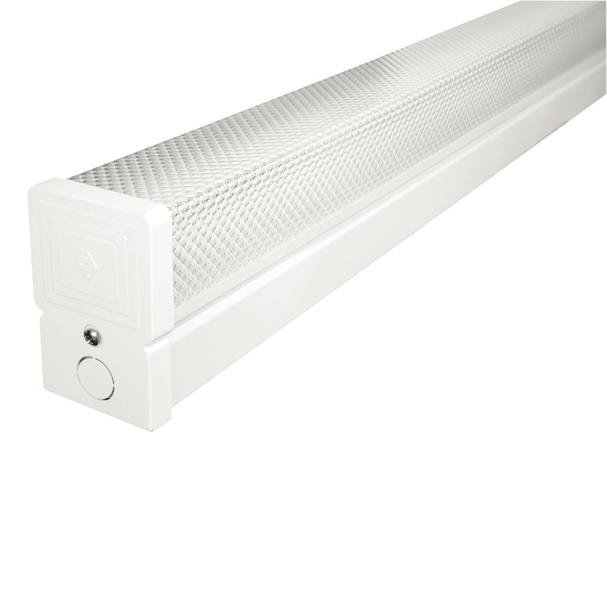 Colours Fluorescent Batten Light With Diffuser L 935mm