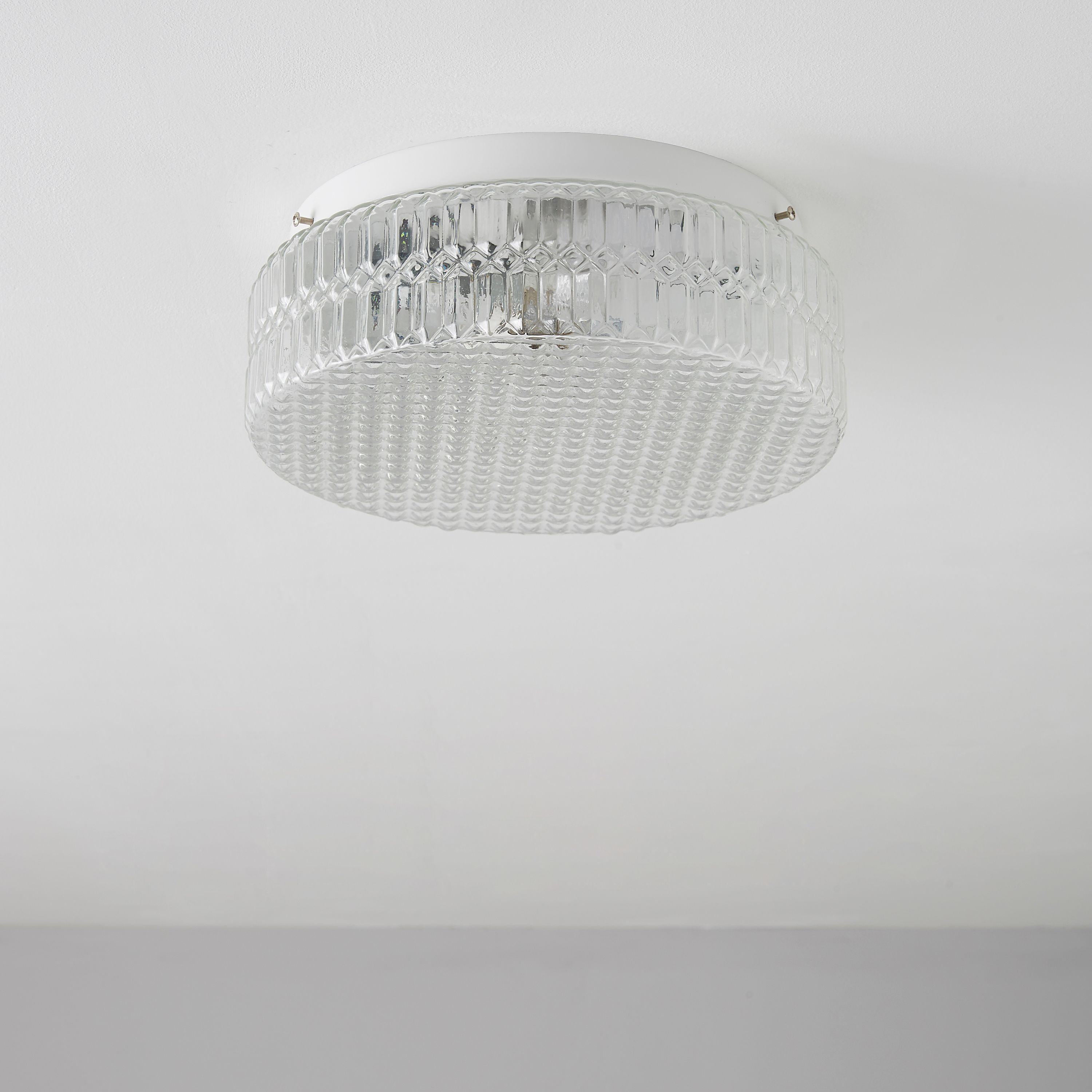 Zibo Clear Crystal Effect Ceiling Light