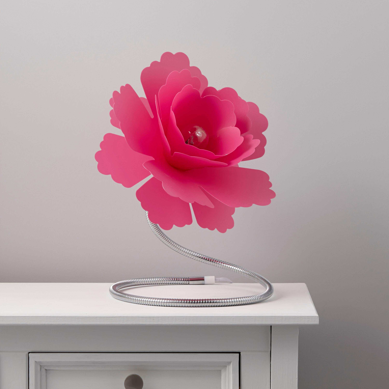 Paloma Flower Fuchsia Table Lamp