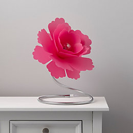Paloma Flower Fuchsia Table Lamp