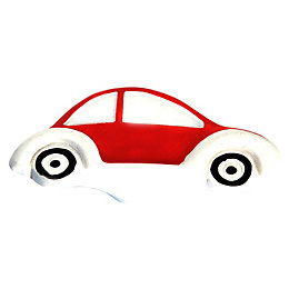 B&Q Red Car Furniture Knob, Pack of 1