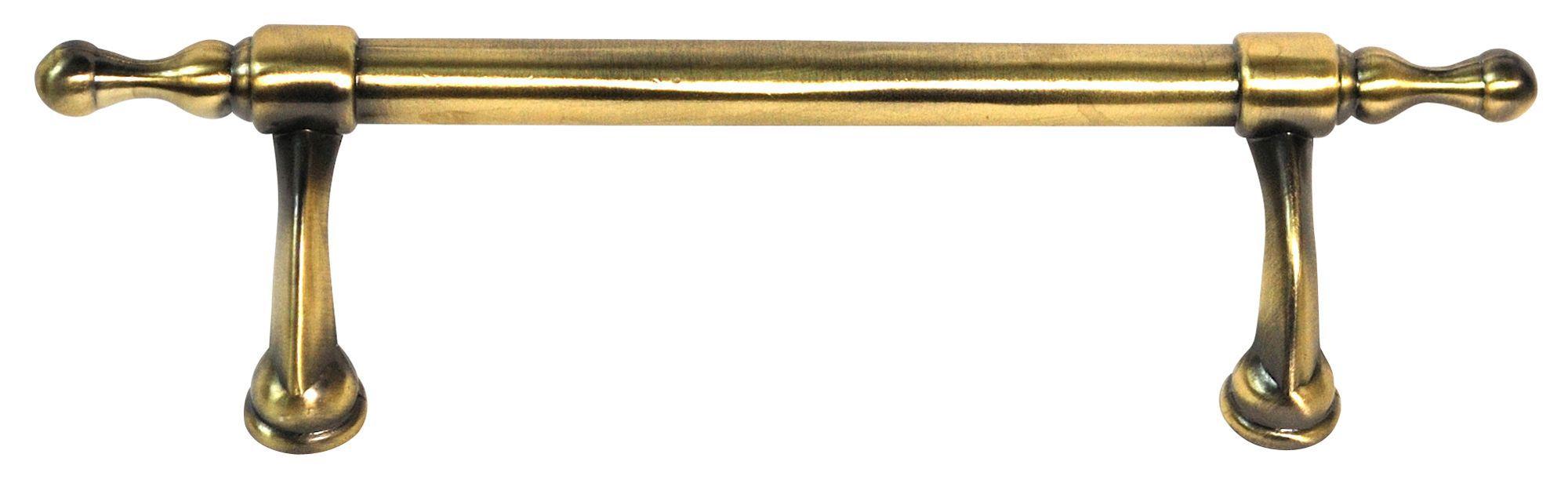 B&q Brass Effect Drop Furniture Handle, Pack Of 1