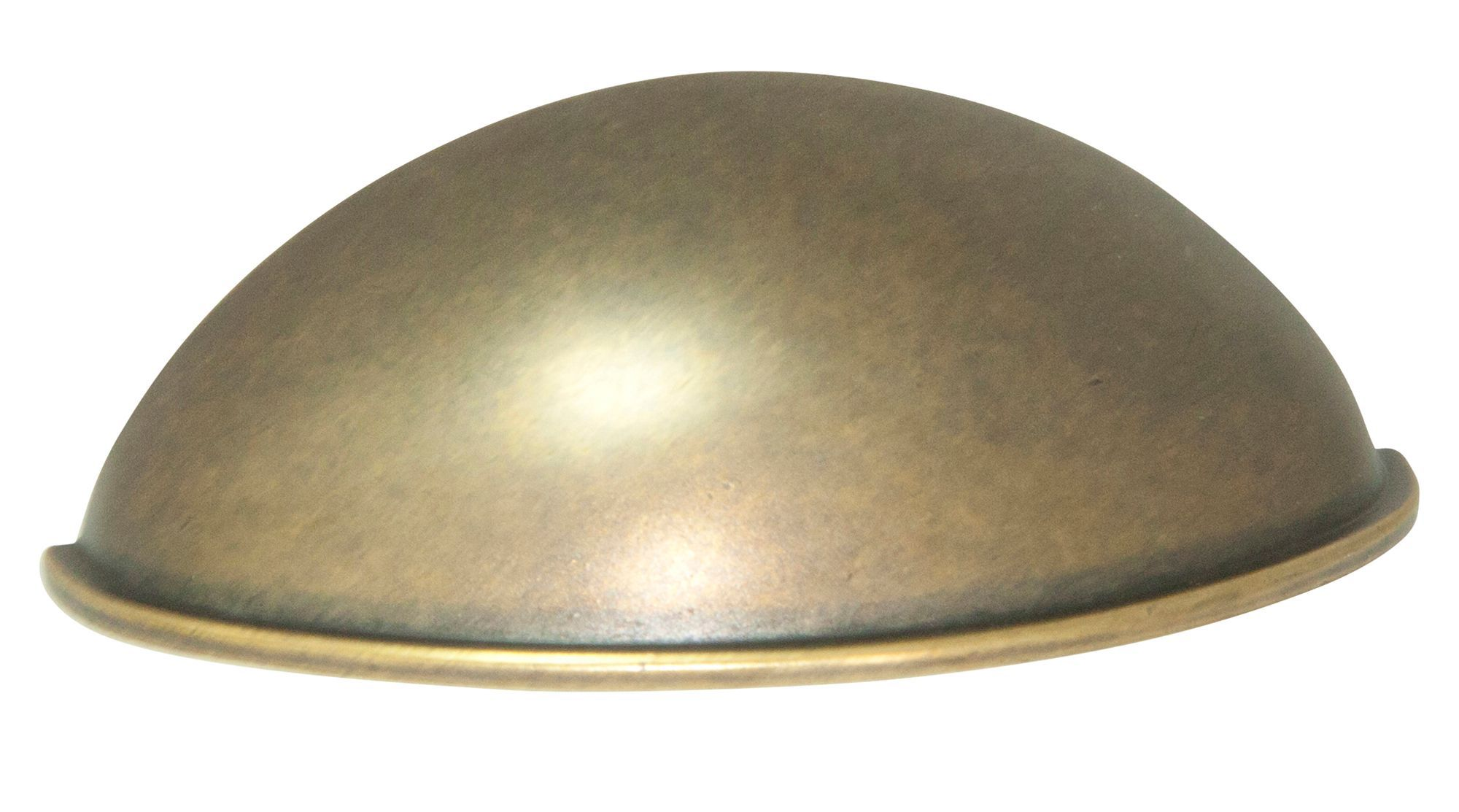 B&q Brass Effect Furniture Pull Handle (l)79.6mm, Pack Of 1