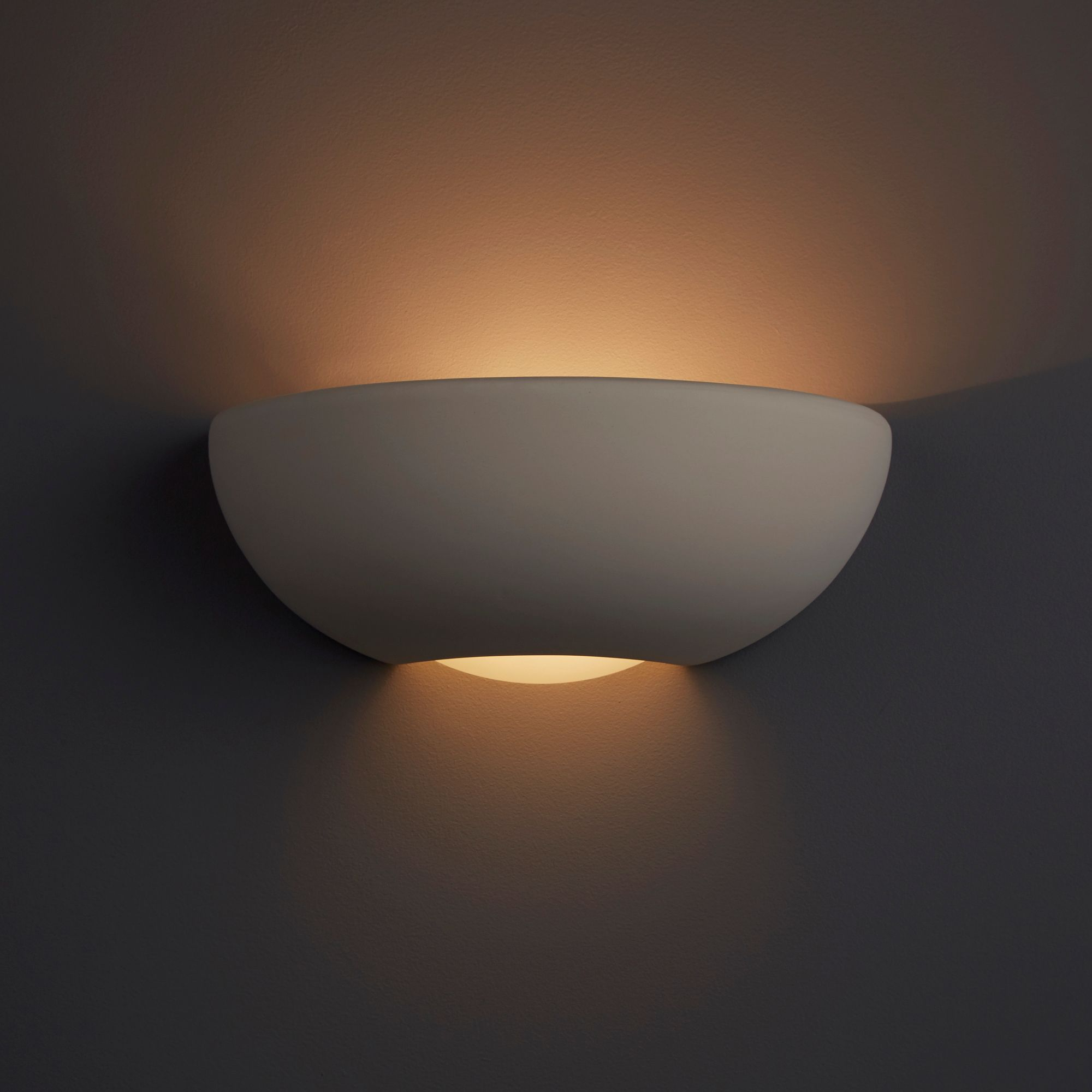 Photos Of Wall Lights : Volos Sphere White Single Wall Light Departments DIY at B&Q