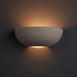 Volos Sphere White Single Wall Light