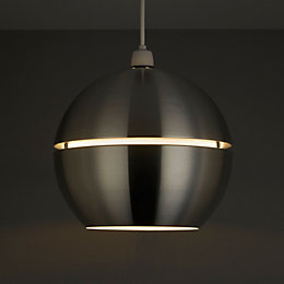 Rainbow Silver Aluminium Spherical Pendant Light Shade