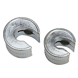 B&Q Zinc Pipe Pipe Cutter, Set of 2