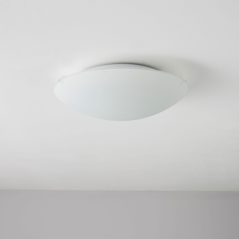 Bathroom Ceiling Lights At B&Q led semi flush ceiling light | diy