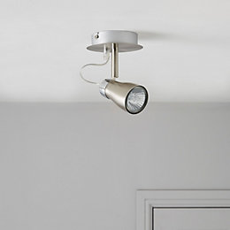 Jena Brushed Chrome Effect Spotlight