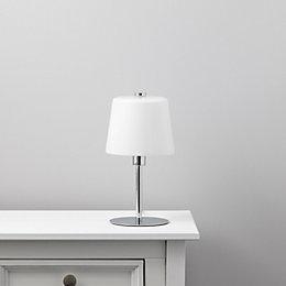 Daria Chrome Effect Table Lamp