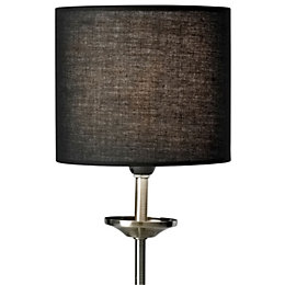 Colours Briony Black Light Shade (D)15cm