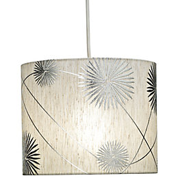 Colours Burst Ivory Light Shade (D)22cm