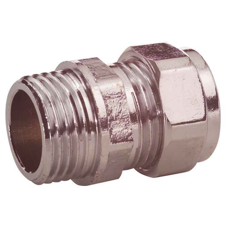 Plumbsure Compression Coupler (dia)15mm