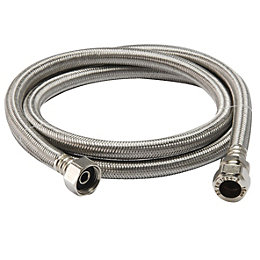 "Flexible Tap Connector, (Dia)22mm (Dia)3/4"" (L)1.5m"