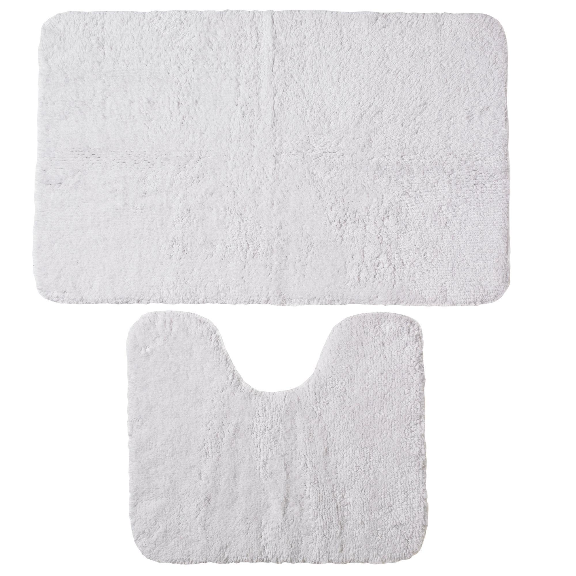White Cotton Pedestal Set (l)800mm (w)500mm